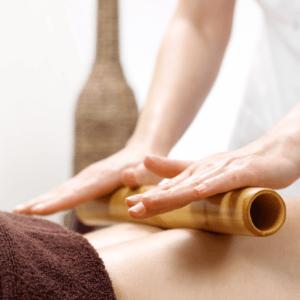Massage bambou