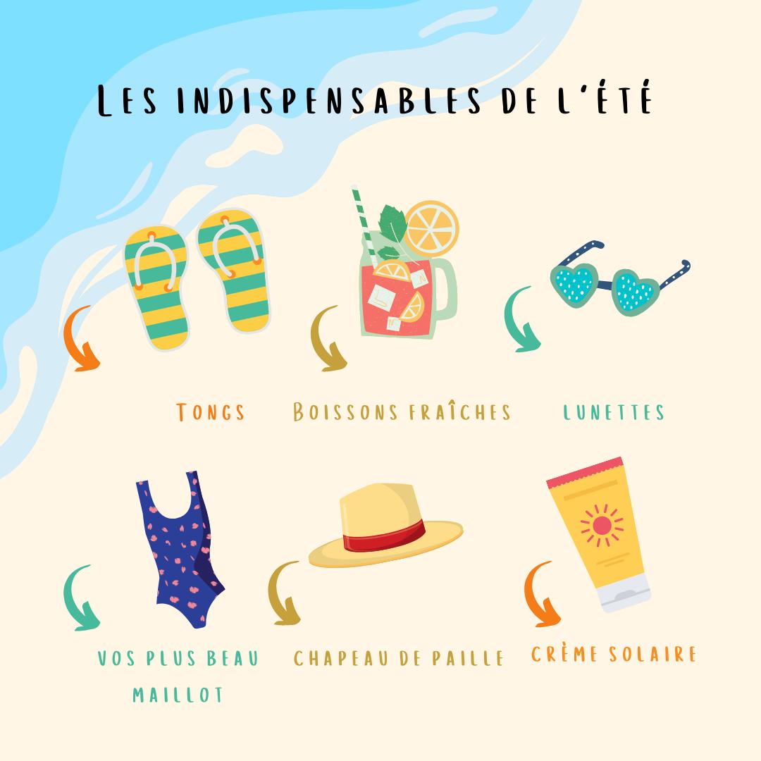 les indispensables de l'été